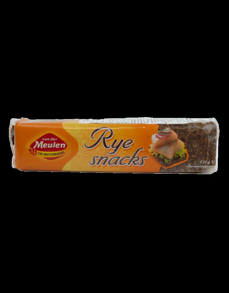 Van Der Meulen Van Der Meulen Ryebread Snacks 235g