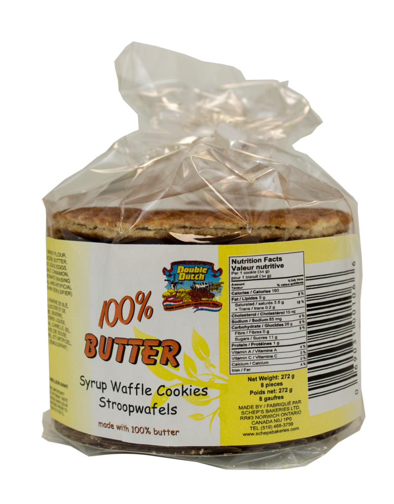 Double Dutch Double Dutch Butter Stroopwafels