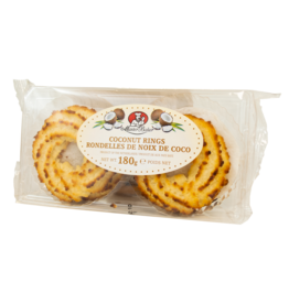 Cafe Amsterdam Coconut Rings 180g