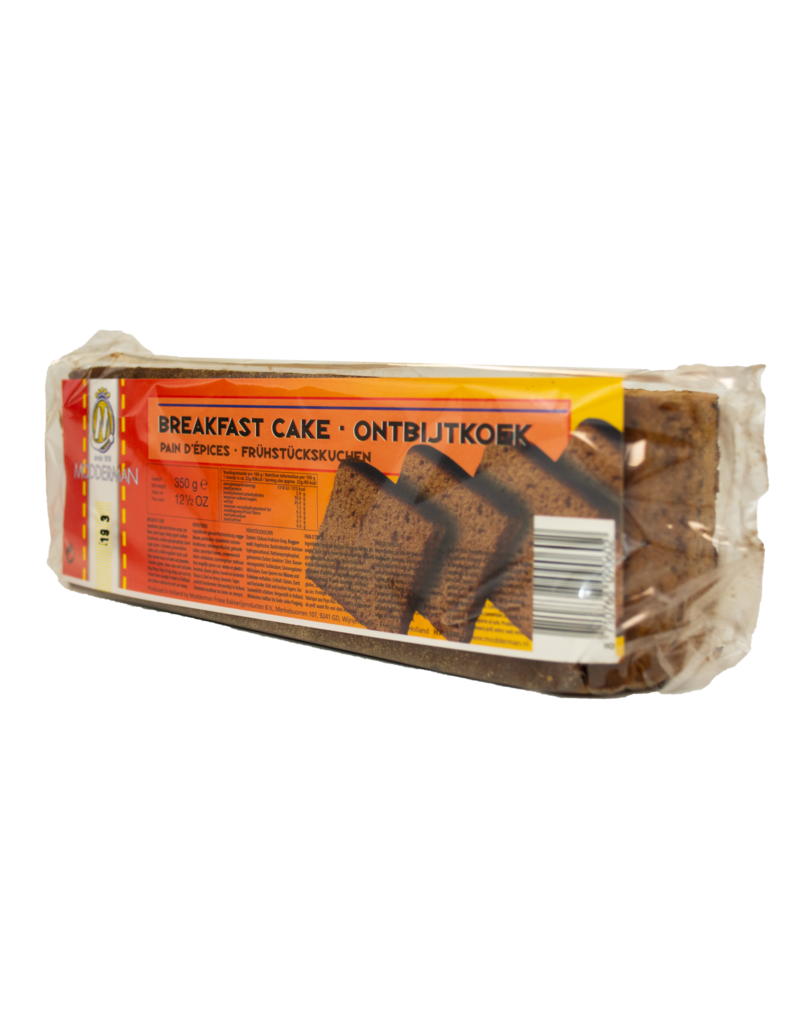 Modderman Modderman Breakfast Cake 350g