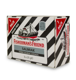 Fisherman's Friend Salmiak 3 Pack 3X25g