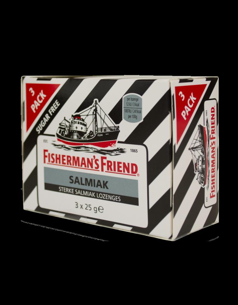 Fisherman's Friend Fisherman's Friend Salmiak Sugar Free 3 Pack 3X25g