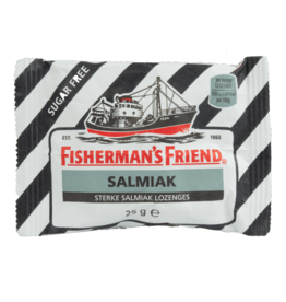 Fisherman's Friend Salmiak Sugar Free 25g
