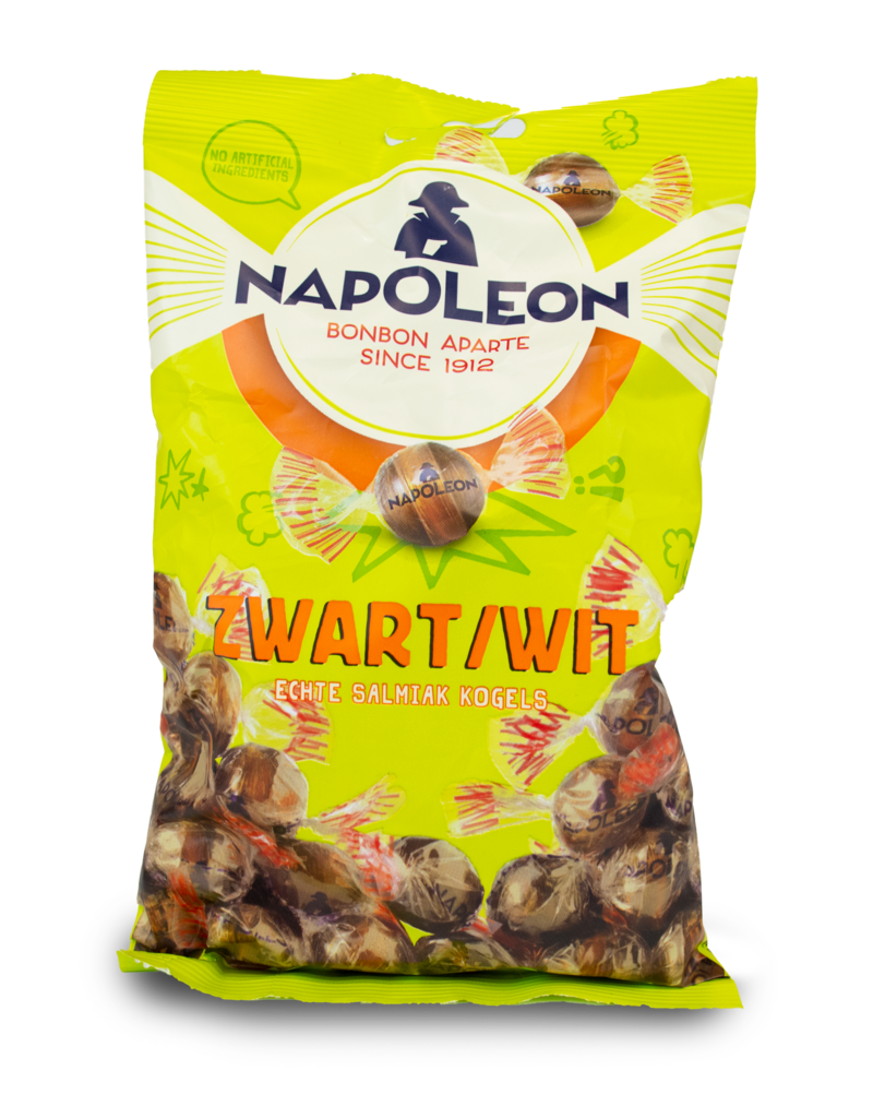 Napoleon Napoleon Zwart Wit Kogels 200g