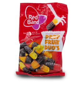 Venco Red Band Dropfruit Duos 166g