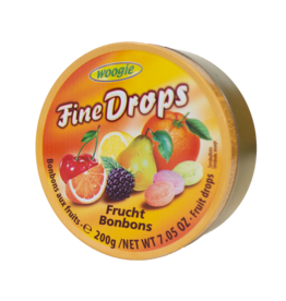 Woogie Candy Tin - Fruits 200g