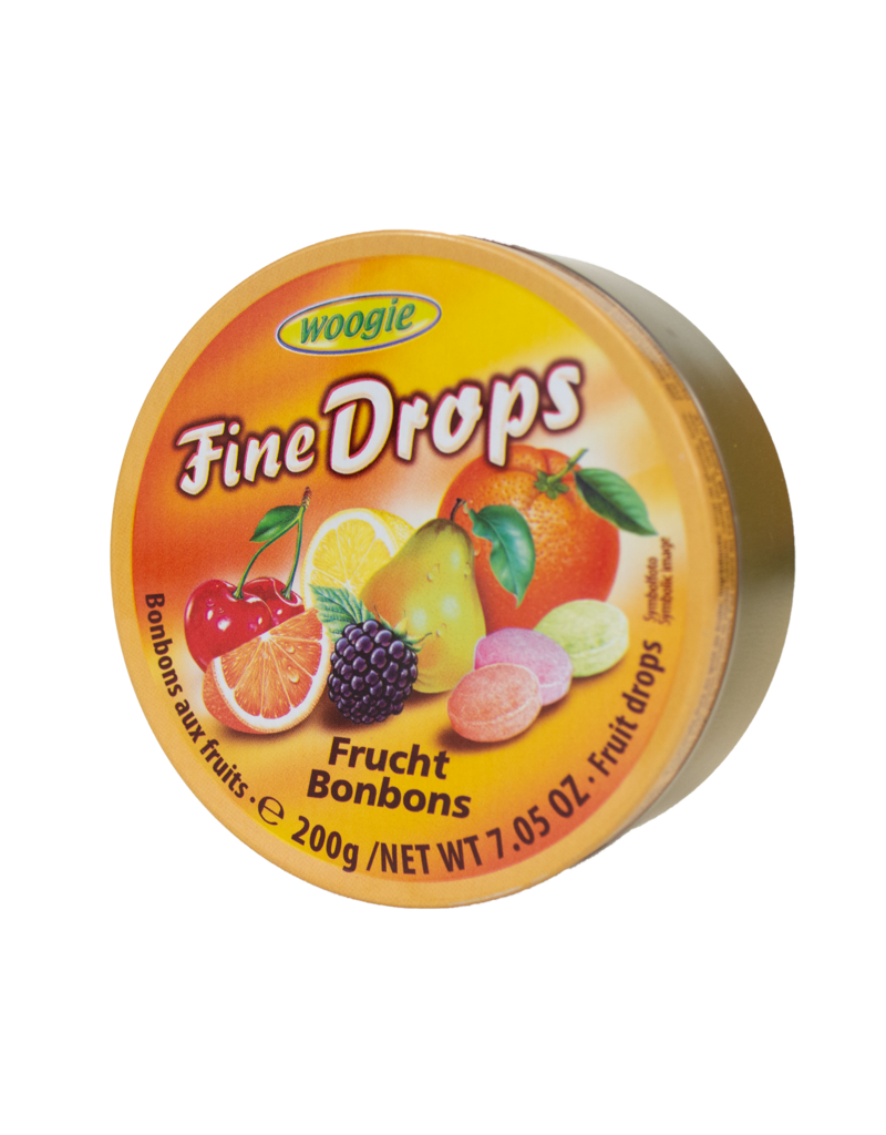 Woogie Woogie Candy Tin - Fruits 200g