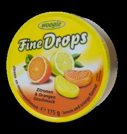 Woogie Candy Tin - Orange & Lemon 200g