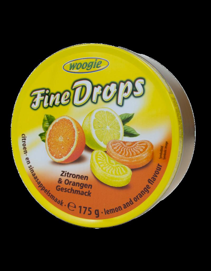 Woogie Woogie Candy Tin - Orange & Lemon 200g