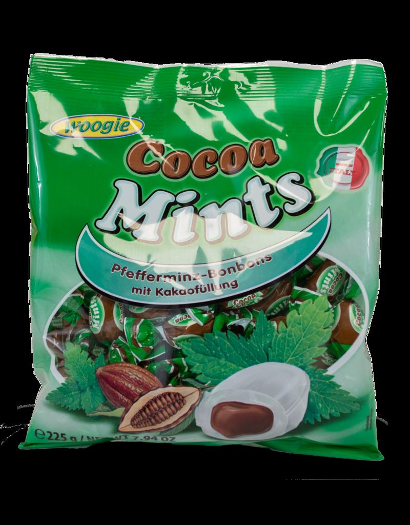 Woogie Woogie Cocoa Mints 225g