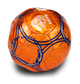 KNVB Orange Soccer Ball