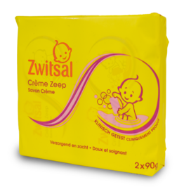 Zwitsal Baby Soap 2 Pack 180g