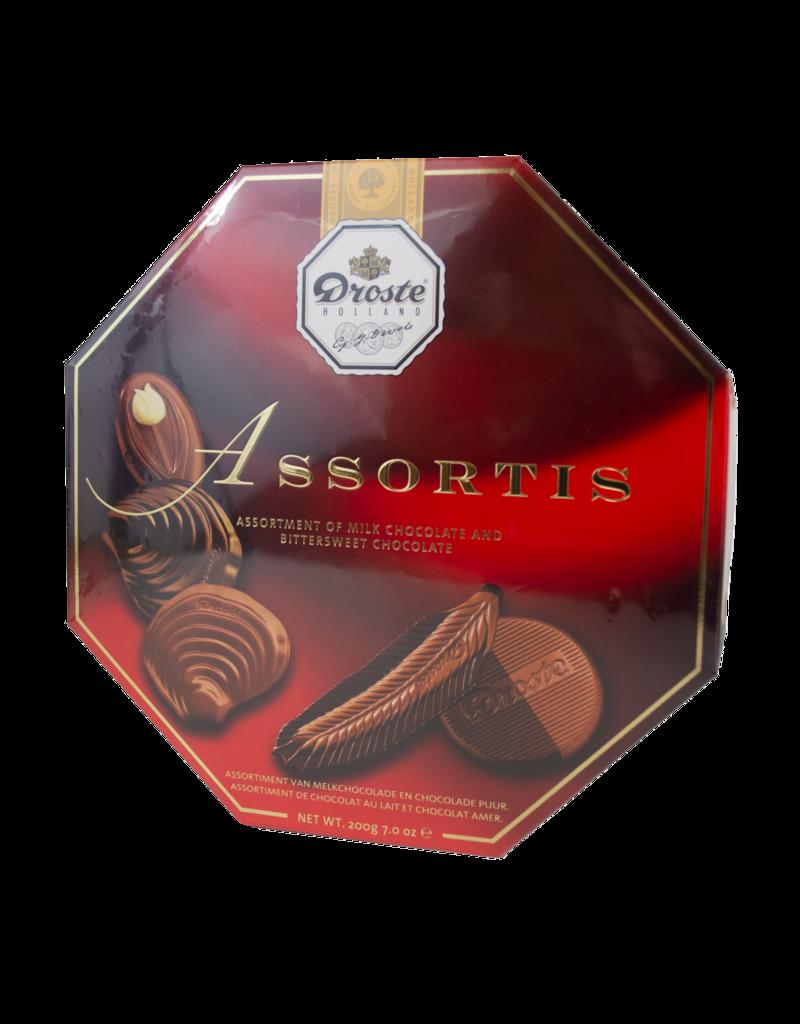 Droste Droste Assortis Dark Chocolate Box 200g