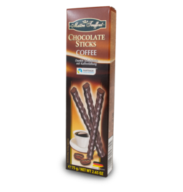 Maitre Truffout Chocolate Sticks - Coffee 75g