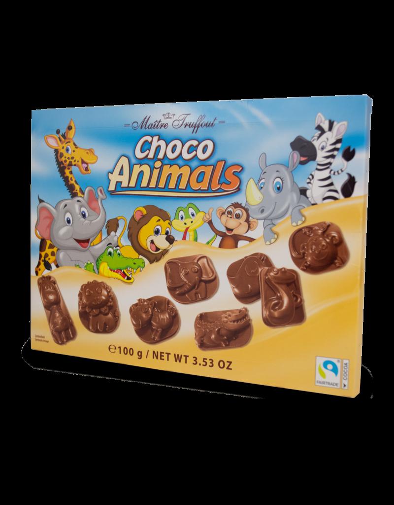 Maitre Truffout Maitre Truffout Choco Animals 100g