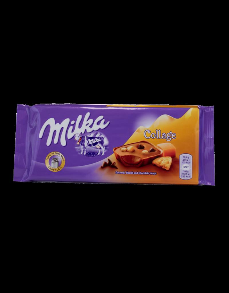 Milka Milka Collage Caramel 93g