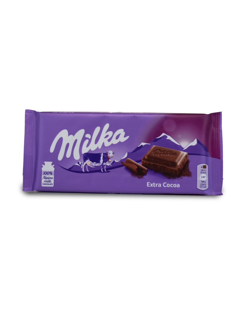 Milka Milka Extra Cocoa (Dark) Chocolate Bar
