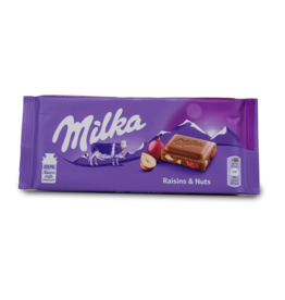 Milka Raisin & Nut Chocolate Bar