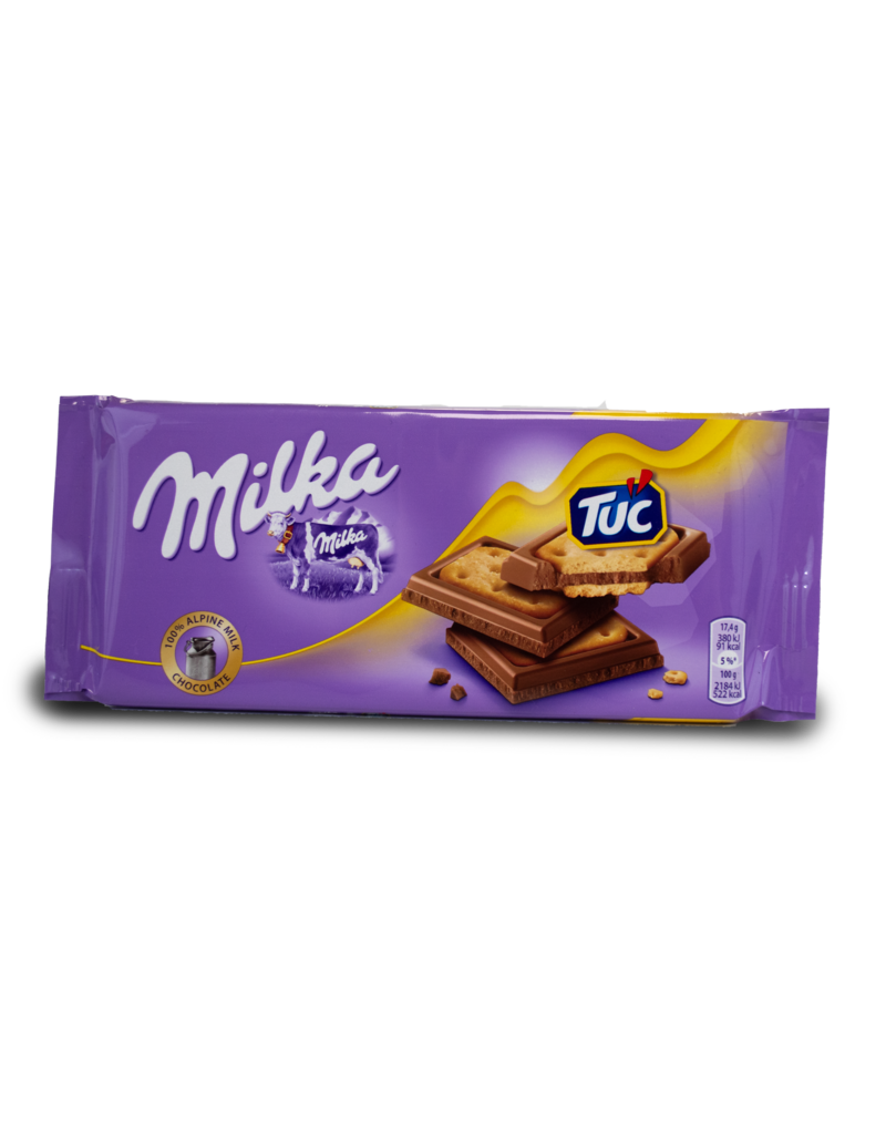 Milka Milka Tuc Chocolate Bar 87g
