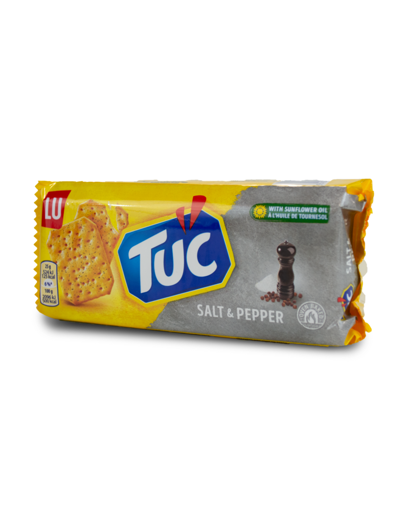 Lu Lu Tuc Crackers - Salt and Pepper 100g