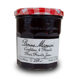 Bonne Maman Jam - Four Fruit 250ml