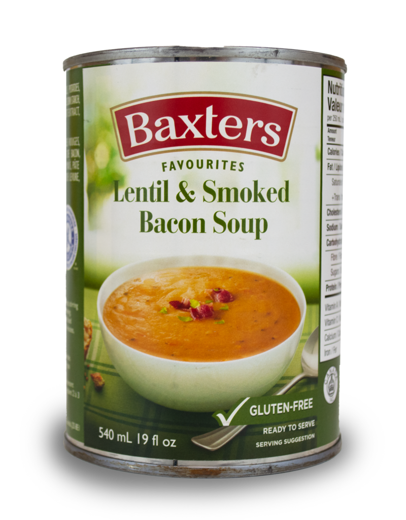Baxter Baxter Soup - Lentil and Smoked Bacon 540ml