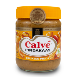 Calve Peanutbutter With Nuts 350g