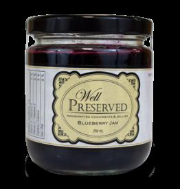 Well Preserved Jam - Blueberry 250ml