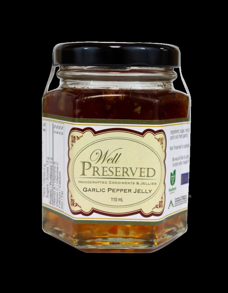 Community Living Well Preserved Jam - Garlic Pepper Jelly 110ml