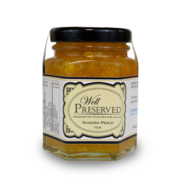 Community Living Well Preserved Jam - Niagara Peach 110ml