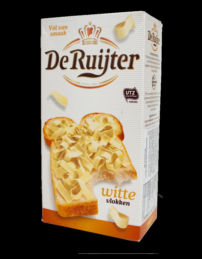 De Ruijter De Ruijter Chocolate Flakes (Vlokken) - White 300g