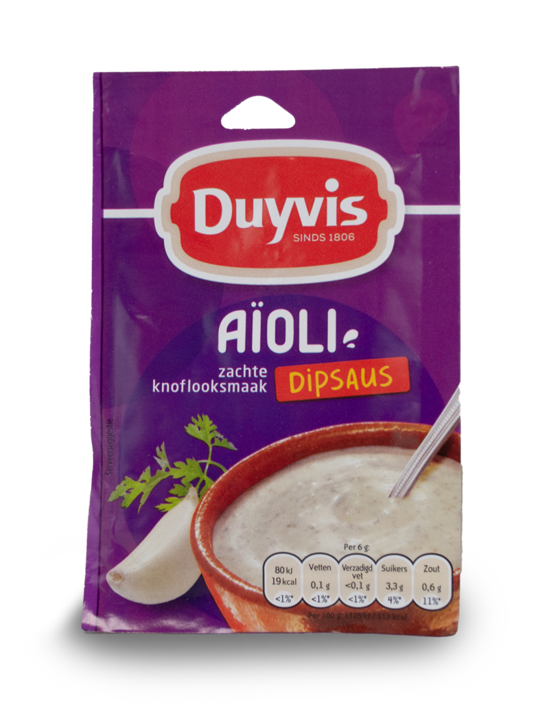 Duyvis Duyvis Aioli Table Sauce Mix 6g