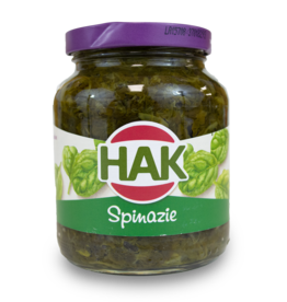 Hak Chopped Spinach 370ml