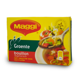 Maggi Vegetable Bouillon 8 Pack