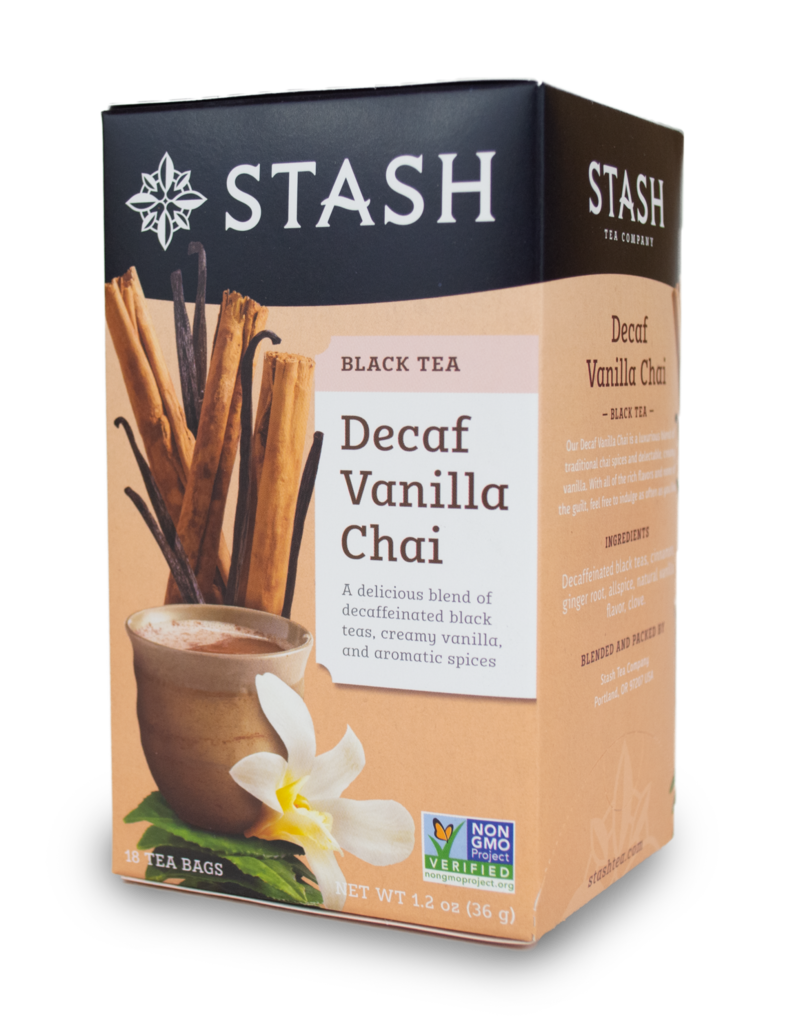 Stash Stash Vanilla Chai Decaf Tea