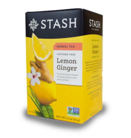 Stash Lemon Ginger Herbal Tea