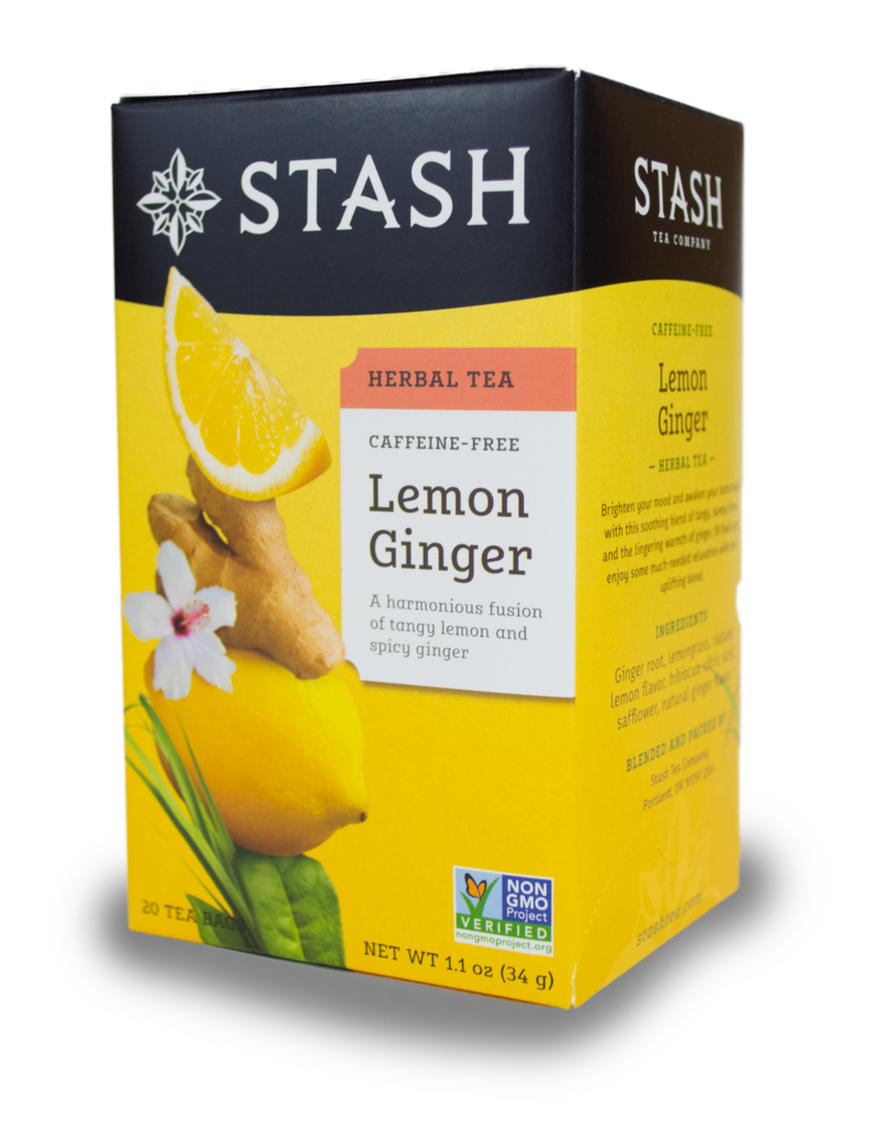 Stash Stash Lemon Ginger Herbal Tea