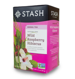 Stash Wild Raspberry Hibiscus Tea 33g