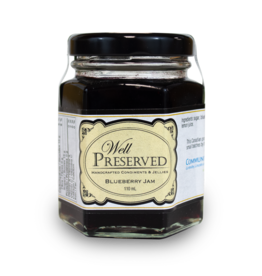 Community Living Well Preserved Jam - Blueberry 110ml