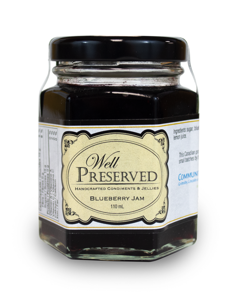 Well Preserved Well Preserved Jam - Blueberry 110ml