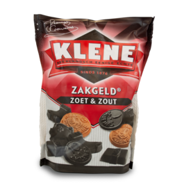 Klene Zakgeld Zoet & Zout 250g