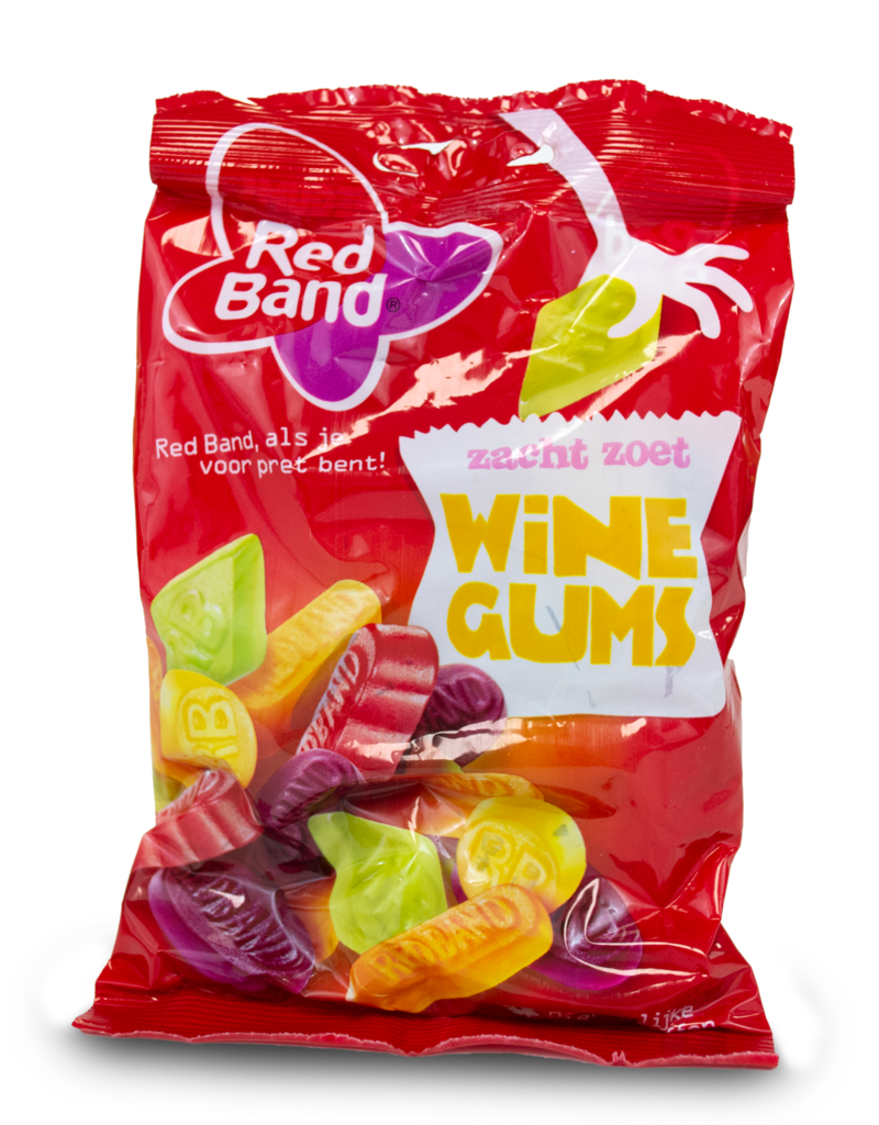 Venco Red Band Wine Gums 155g