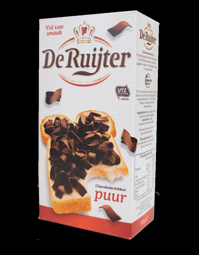 De Ruijter De Ruijter Chocolate Flakes (Vlokken) - Dark 300g
