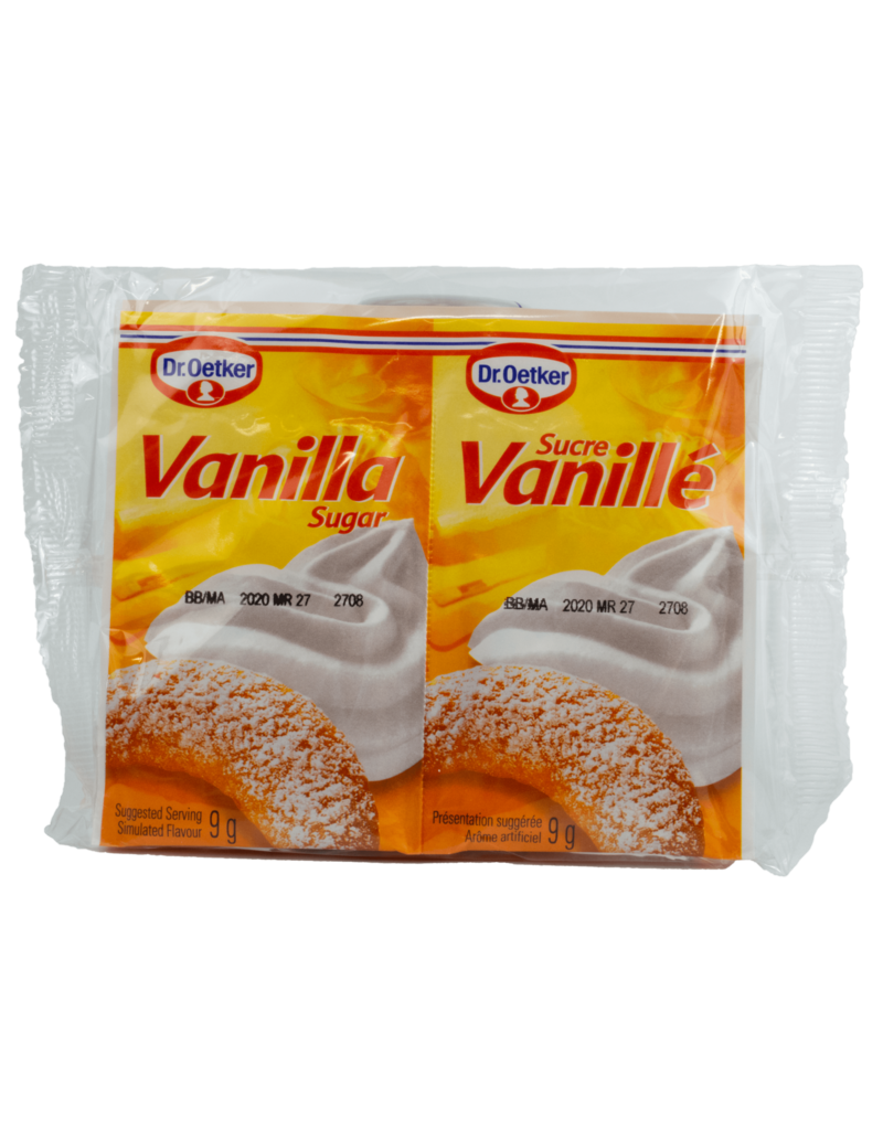 Dr Oetker Dr Oetker Vanilla Sugar 6X9g