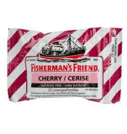 Fisherman's Friend Cherry Sugar Free 22pcs