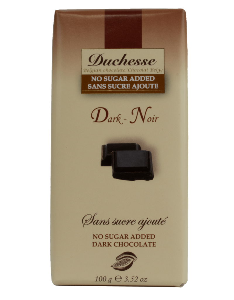 Duchesse Duchesse Sugar Free Dark Chocolate 100g