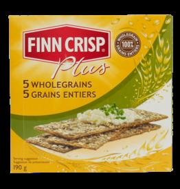 Finn Crisp 5 Wholegrain Crackers 190g