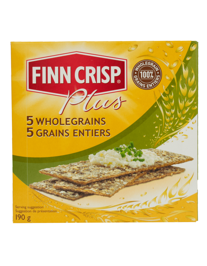 Finn Finn Crisp 5 Wholegrain Crackers 190g