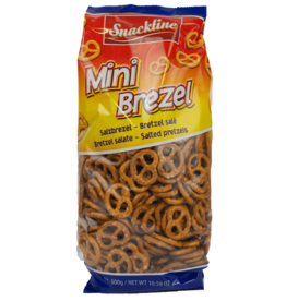 Snackline Mini Pretzels 300g