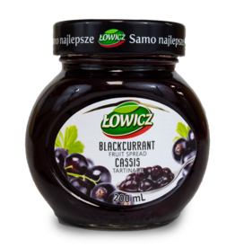 Lowicz Blackcurrant Jam 200ml